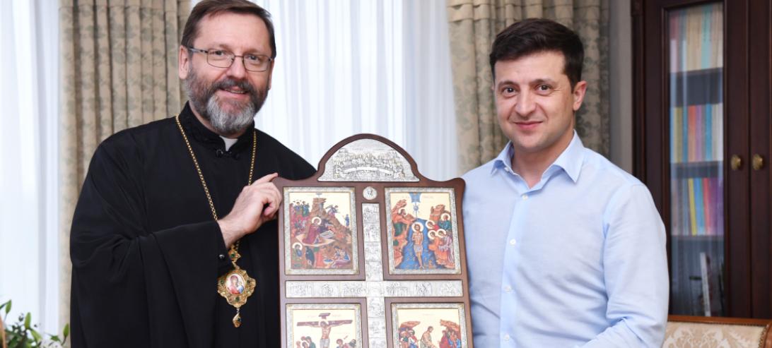 Володимир продовжує зустрічатись з представниками релігійних громад